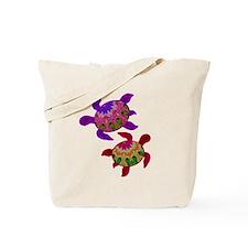 Painted Turtles Tote Bag