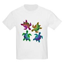 Multi Painted Turtles T-Shirt