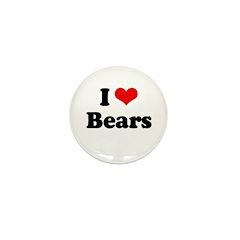I love bears Mini Button (10 pack)