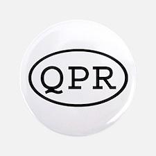 "QPR Oval 3.5"" Button"