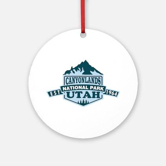 Canyonlands - Utah Round Ornament