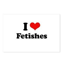 I love fetishes Postcards (Package of 8)