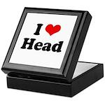 I love head Keepsake Box