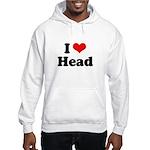 I love head Hooded Sweatshirt