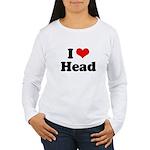 I love head Women's Long Sleeve T-Shirt