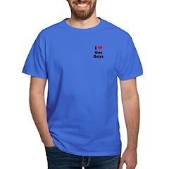 I love hot boys T-Shirt