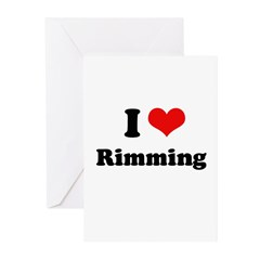 I love rimming Greeting Cards (Pk of 20)