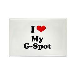 I love my G-spot Rectangle Magnet