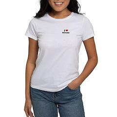 I love bottoms Women's T-Shirt