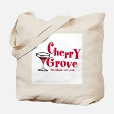 Martini Cherry Grove Tote Bag