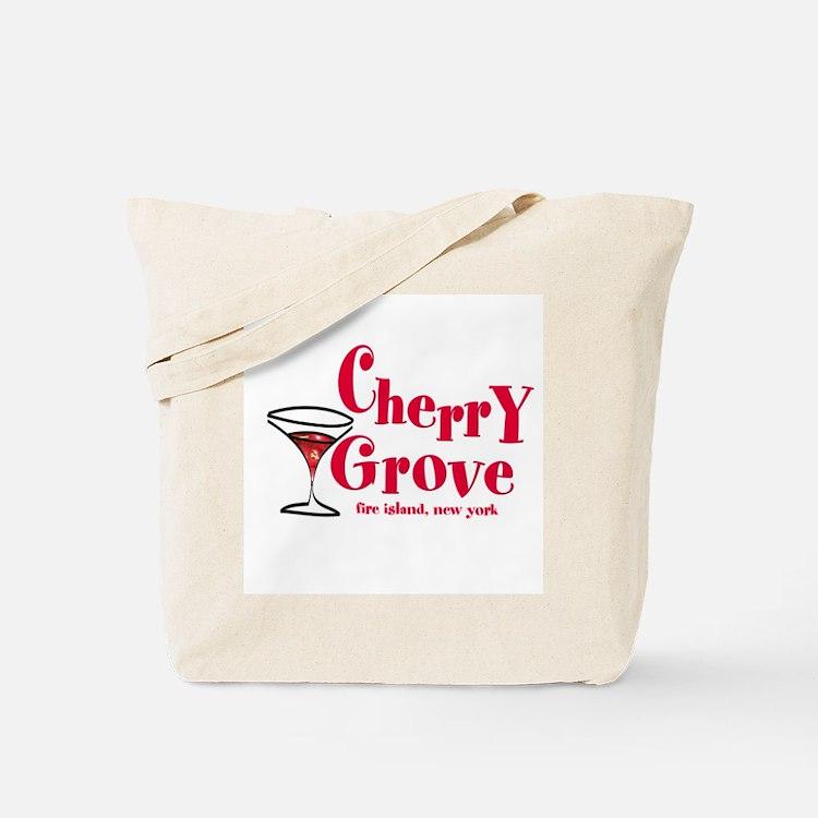 Martini Cherry Grove Tote Bag