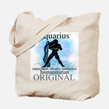 Aquarius Water Bearer Tote Bag