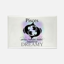 Pisces the Fish Rectangle Magnet