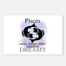 Pisces the Fish Postcards (Package of 8)