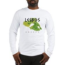LESBOS GREECE Long Sleeve T-Shirt