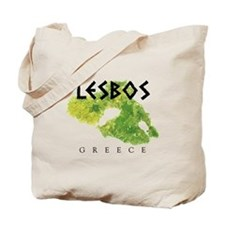 LESBOS GREECE Tote Bag