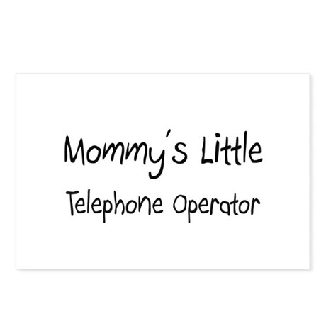 Mommy's Little Telephone Operator Postcards (Packa
