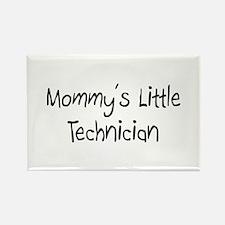 Mommy's Little Technician Rectangle Magnet