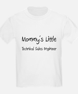 Mommy's Little Technical Sales Engineer T-Shirt