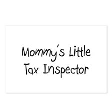 Mommy's Little Tax Inspector Postcards (Package of
