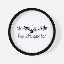 Mommy's Little Tax Inspector Wall Clock