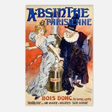 Absinthe Parisienne Postcards (Package of 8)