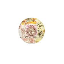 Sugar Sari Mini Button