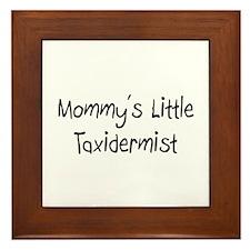 Mommy's Little Taxidermist Framed Tile