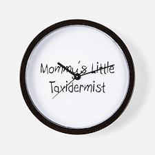 Mommy's Little Taxidermist Wall Clock