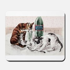 Absinthe Cats Mousepad