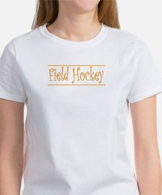 Hockey Goalie - Orange Tee