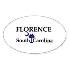 Florence South Carolina Oval Decal