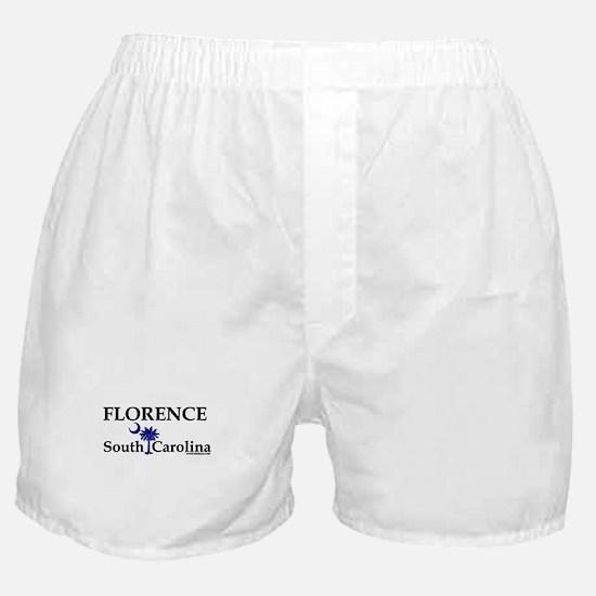 Florence South Carolina Boxer Shorts
