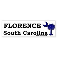 Florence South Carolina Bumper Bumper Sticker