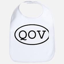 QOV Oval Bib