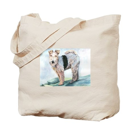Owen Terrier Tote Bag