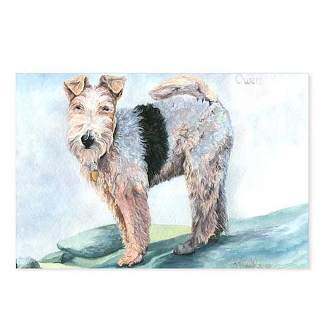 Owen Terrier Postcards (Package of 8)