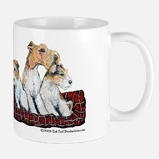Fox Terrier Family Mug