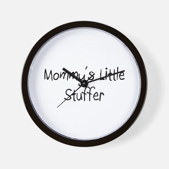 Mommy's Little Stuffer Wall Clock