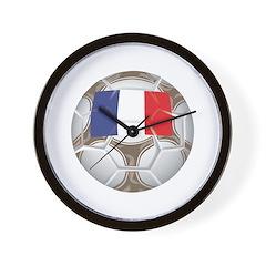 France Championship Soccer Wall Clock