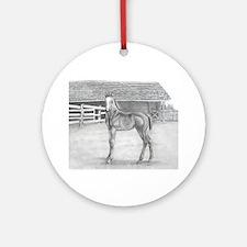 Fancy Foal Ornament (Round)