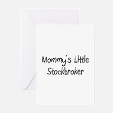 Mommy's Little Stockbroker Greeting Cards (Pk of 1