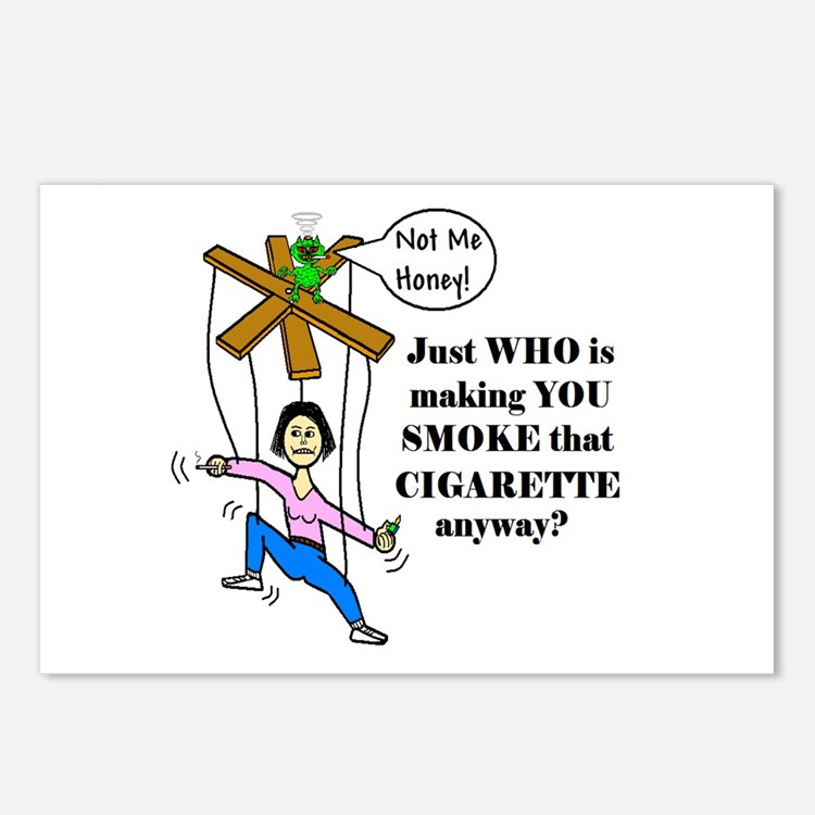 WHO IS MAKING YOU SMOKE THAT Postcards (Package of