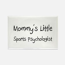 Mommy's Little Sports Psychologist Rectangle Magne
