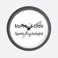 Mommy's Little Sports Psychologist Wall Clock