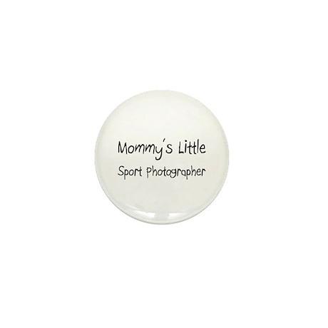 Mommy's Little Sport Photographer Mini Button