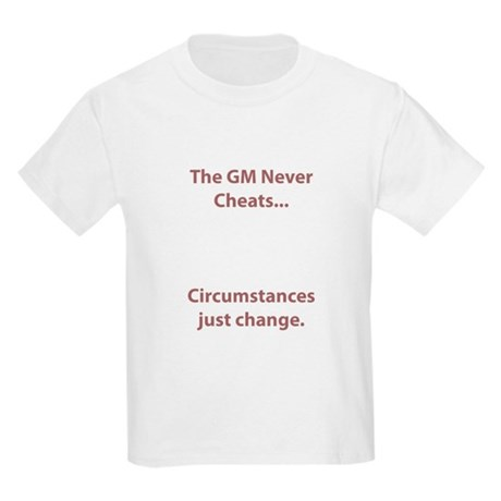 GM Never Cheats Kids Light T-Shirt