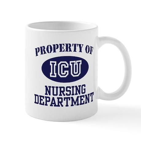 Property of ICU Nursing Department Mug