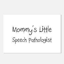 Mommy's Little Speech Pathologist Postcards (Packa