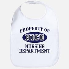 Property of NICU Nursing Department Bib